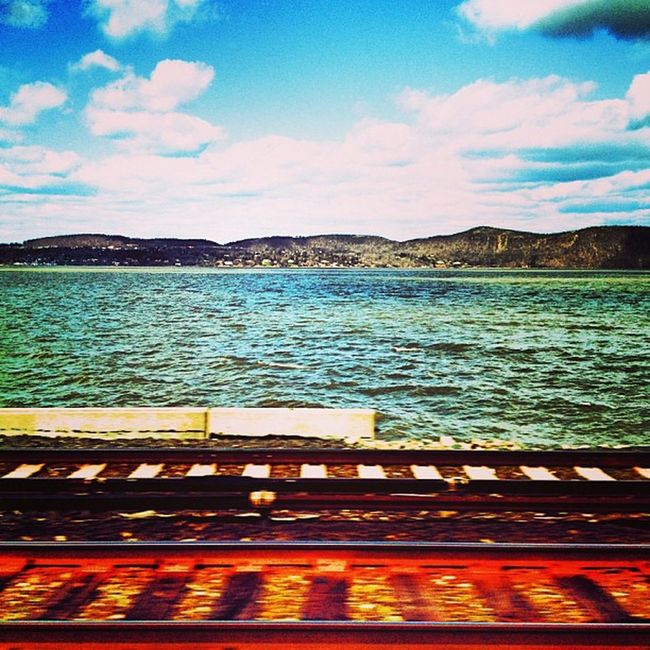because photogenic landscapes Hudsonriver Mta Metronorth