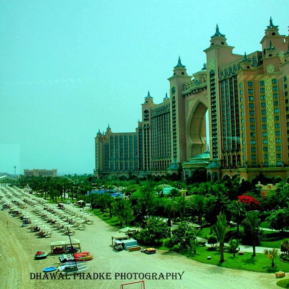 Hotel Atlantis- A masterpiece on an artificial island in Dubai 7star Magestic PalmJumeriah Engineering Marvel Artistic Cannon Photography Instapic