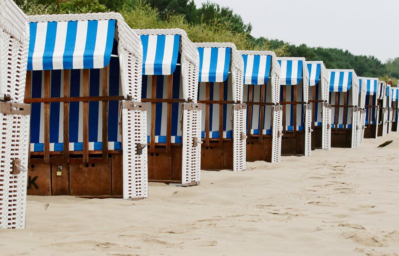 Strandkorb Strandkörbe Beachchair Beachphotography Beach EyeEm Best Shots Eye4photography  Taking Photos AMTPt_community Learn & Shoot: Simplicity Pattern Pieces Everything In Its Place Beautifully Organized