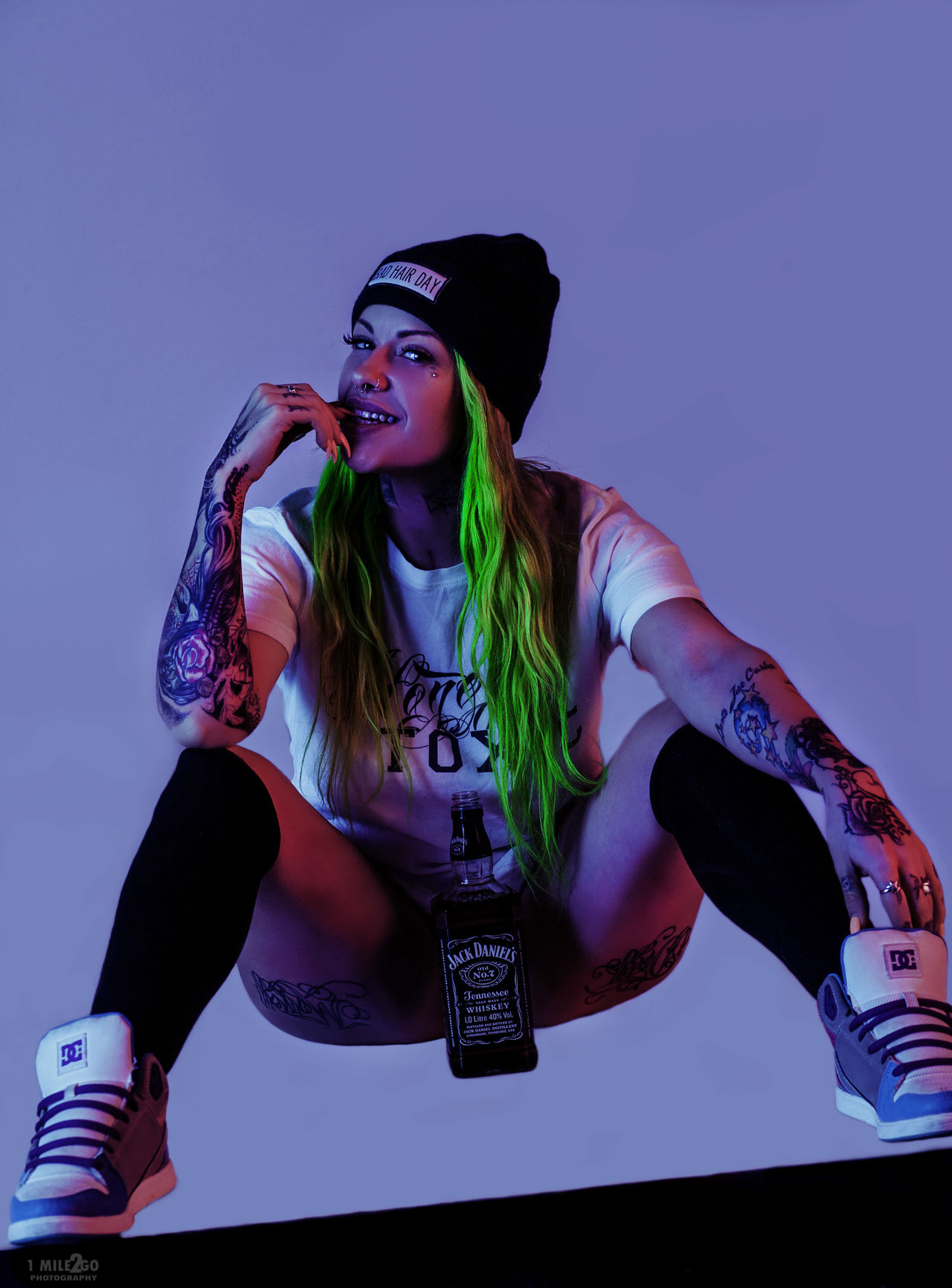 Sexygirl SkateboardLifeStyle Magazine Portrait Of A Woman Punk Style First Eyeem Photo