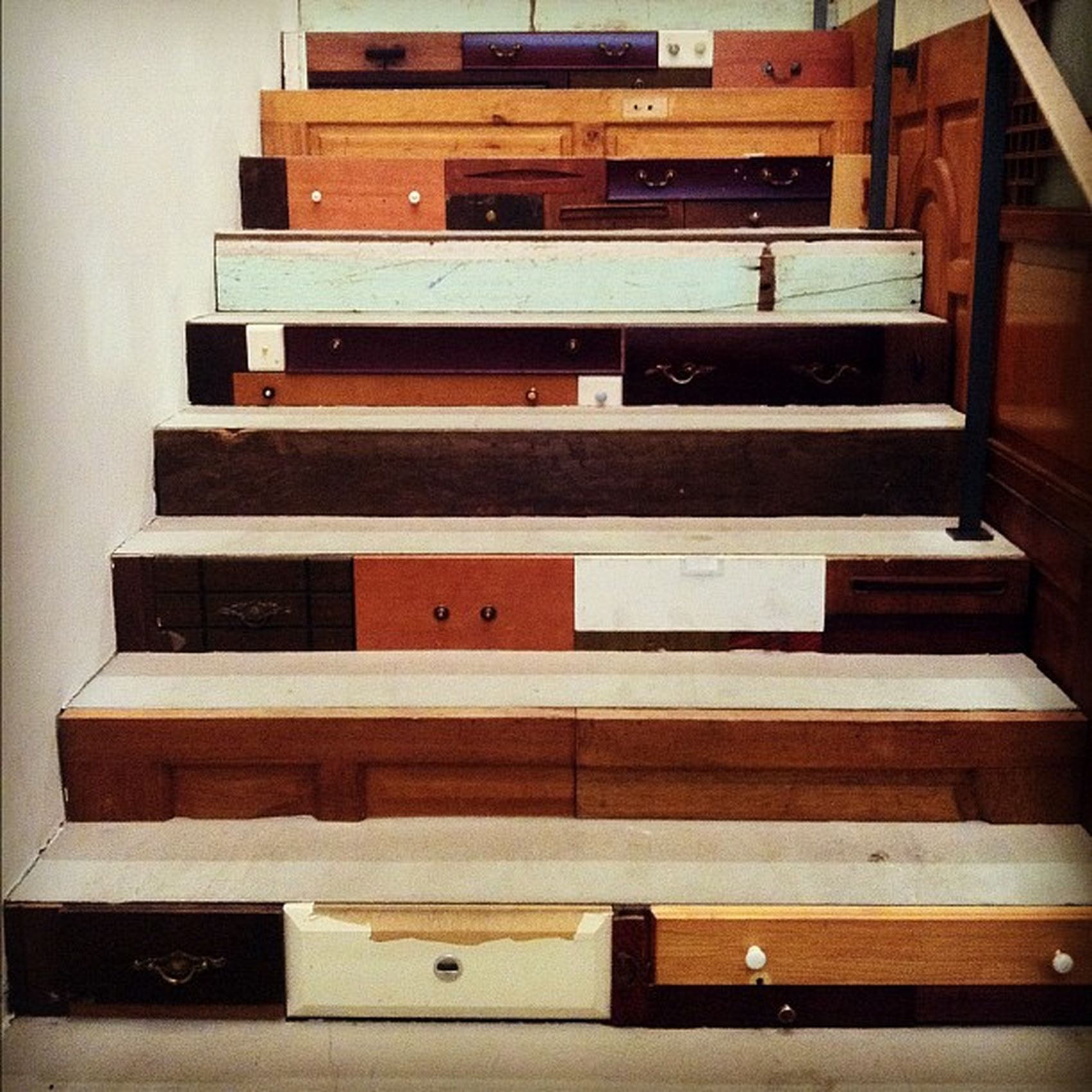 Stairs // Drawers