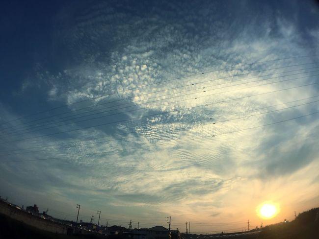 夕陽 夕焼け Sunset 空 Sky 雲 Clouds