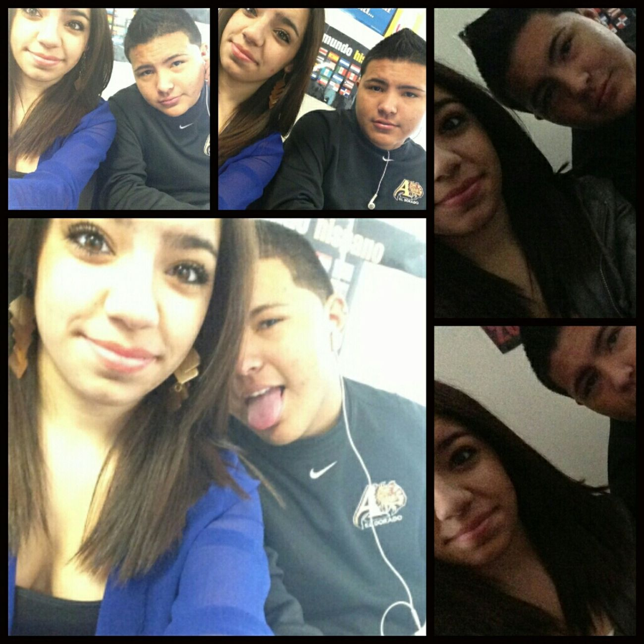 andrea and I during 2nd period(: