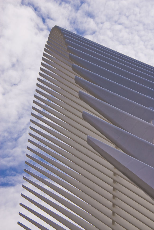 The Oculus Building Architecture Building Exterior Built Structure Day Modern Modern Architecture No People Outdoors Pattern