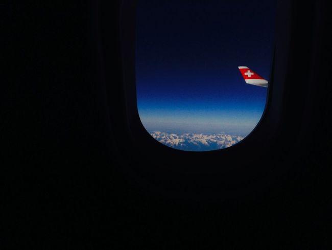 Swissair Bulesky Red