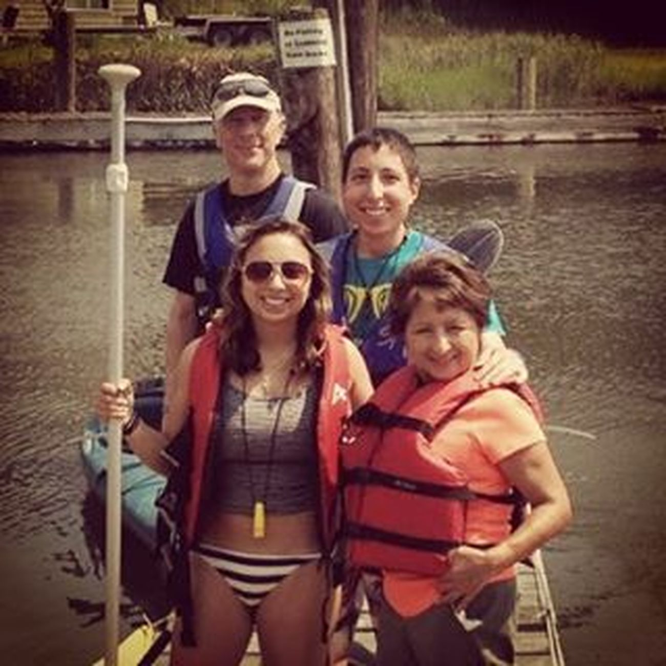 Family Kayaking. BeILL StayILL ILLstrong Kayaks daytrip family minussteve wheresfresco love madison Connecticut tippedovertwice laughs paddleboarding fit river ct fun experieces memories adventure liveinthemoment