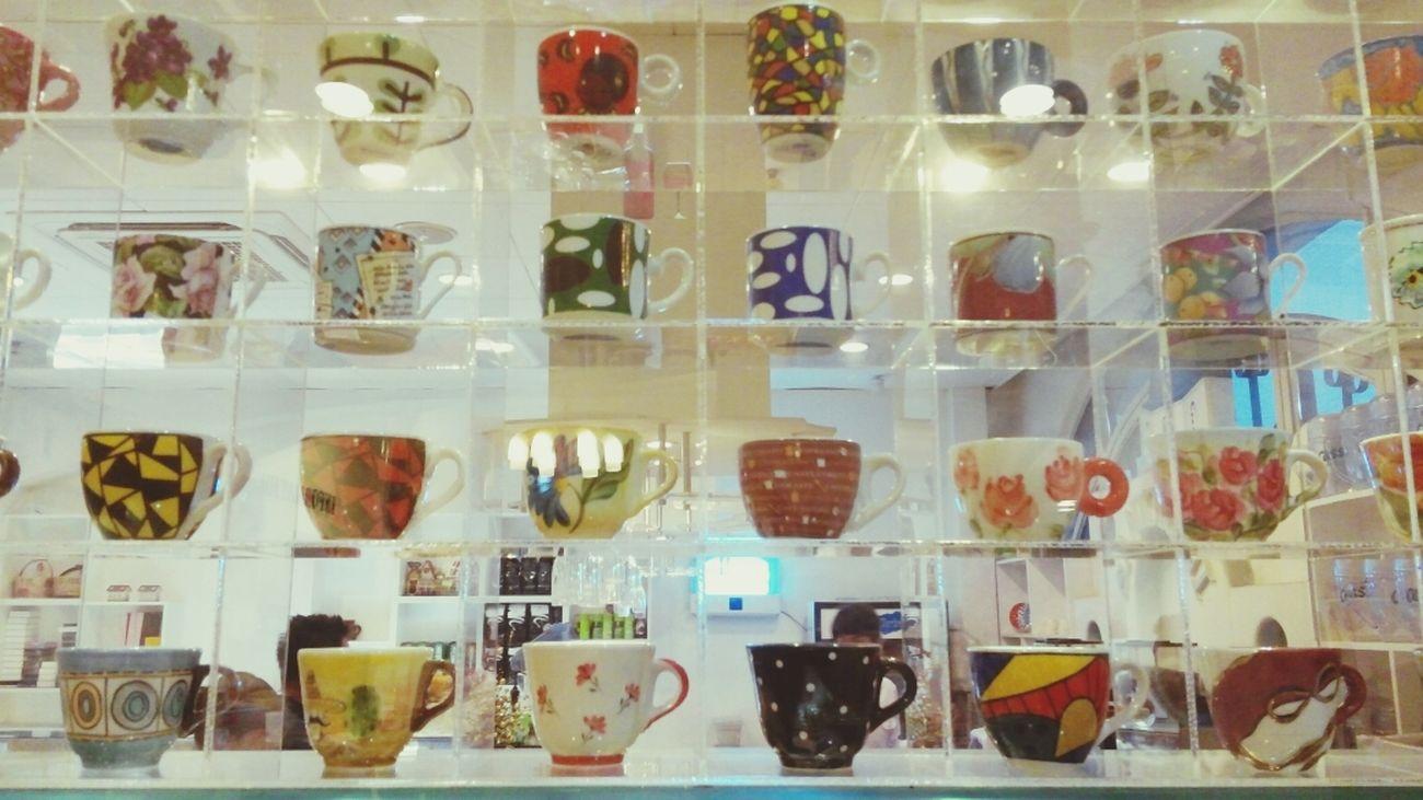 Espresso Cups @cafe 산토리니