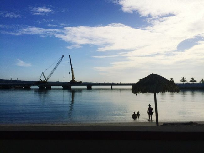 Matanzas Water Sky Bridge What Does Peace Look Like To You? Cuba Hello World Swimming Escaping Relaxing