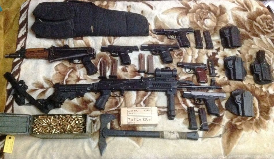 9mm Ak-47 Krink  MACORAV S&W Taurus Tomahawk Weapons Weapons Of War