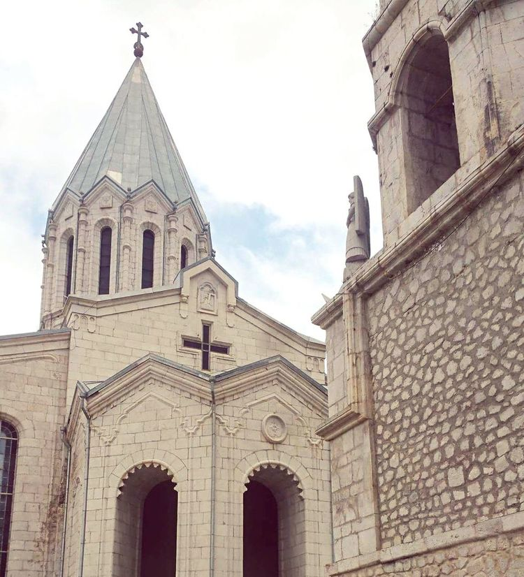 Armenian Church Armenia Architecture Building Exterior Built Structure Religion Low Angle View Spirituality Day Place Of Worship Outdoors No People Sky