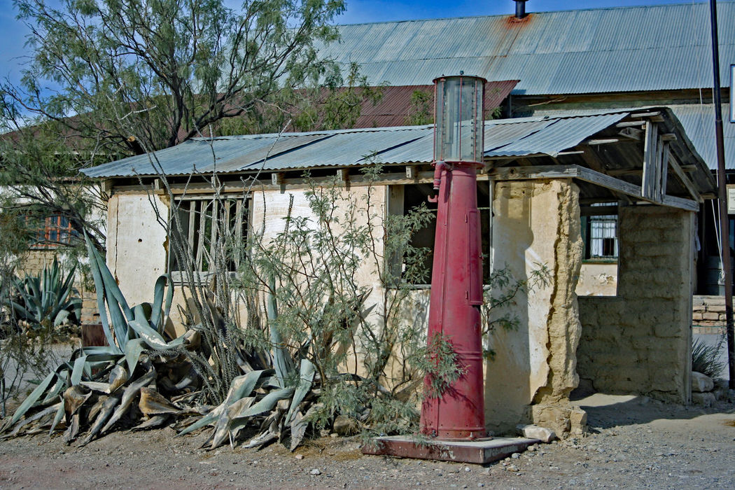 Abandoned Buildings Abandoned Car Gas Pump Gas Station Ghost Town Terlingua Texas Travel