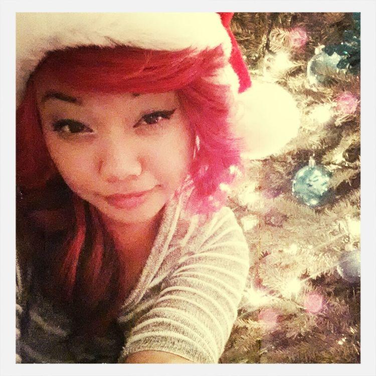 merry christmas eeeve♡ lol dat grainy photo quality doe