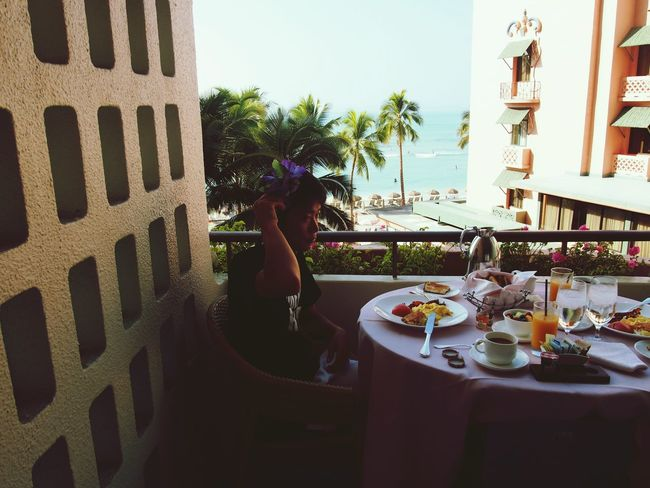 Hawaii Royalhawaiian Waikiki Waikiki Beach Breakfast That's Me Good Morning