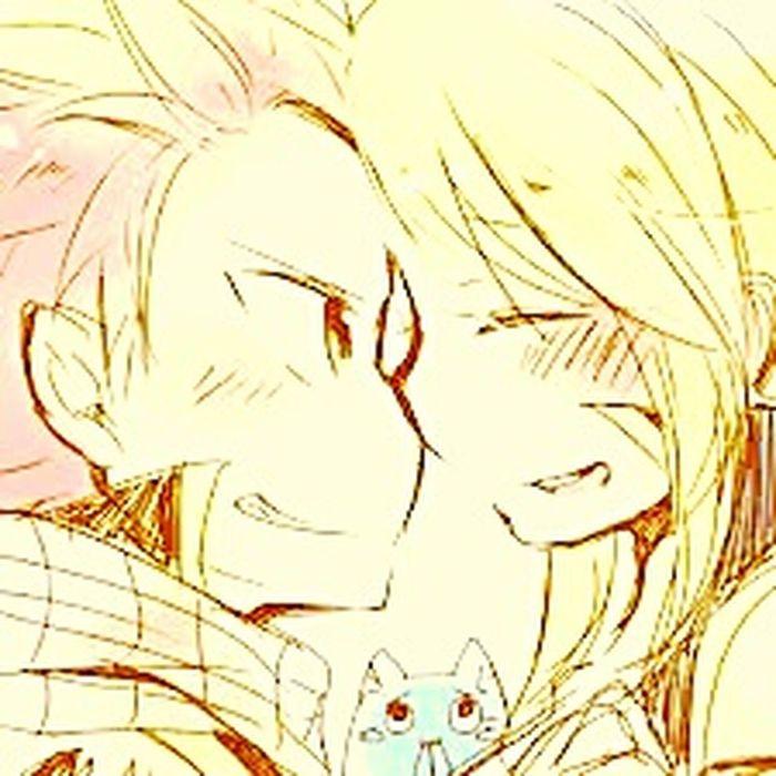 FairyTail Nalu♥ Anime :3 ^.^'  Fairy Tail <3