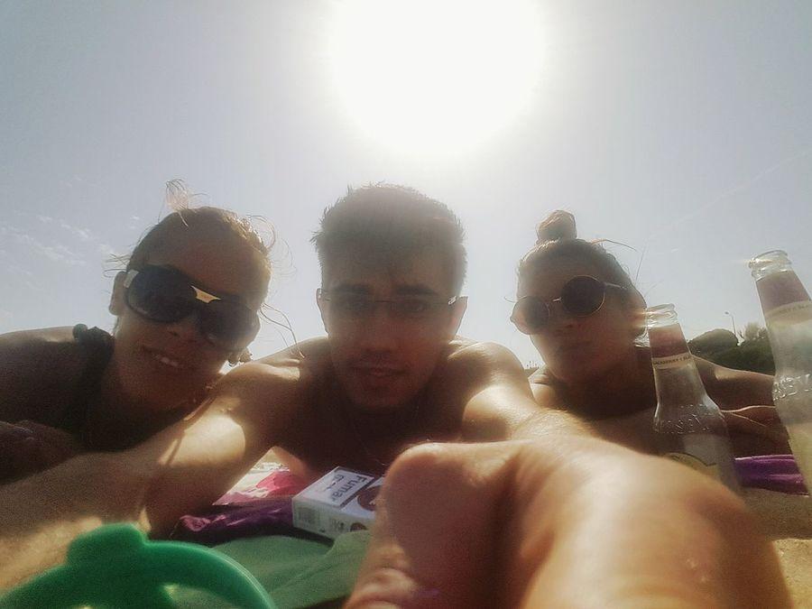 Friends ❤ Beach Sun