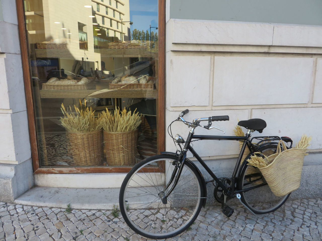 Exploring Lisbon in 15 hours Bicycle Building Exterior City City Break Day Day Trip Lisbon - Portugal Mode Of Transport No People Outdoors Sight Seeing Stationary Transportation