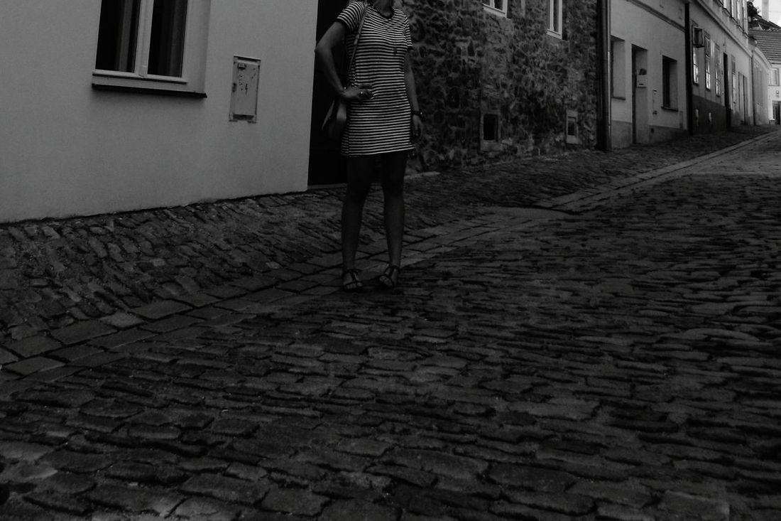 Blackandwhite Old Town Street Architecture Architecturelovers Summer Czech Republic Traveling Znojmo