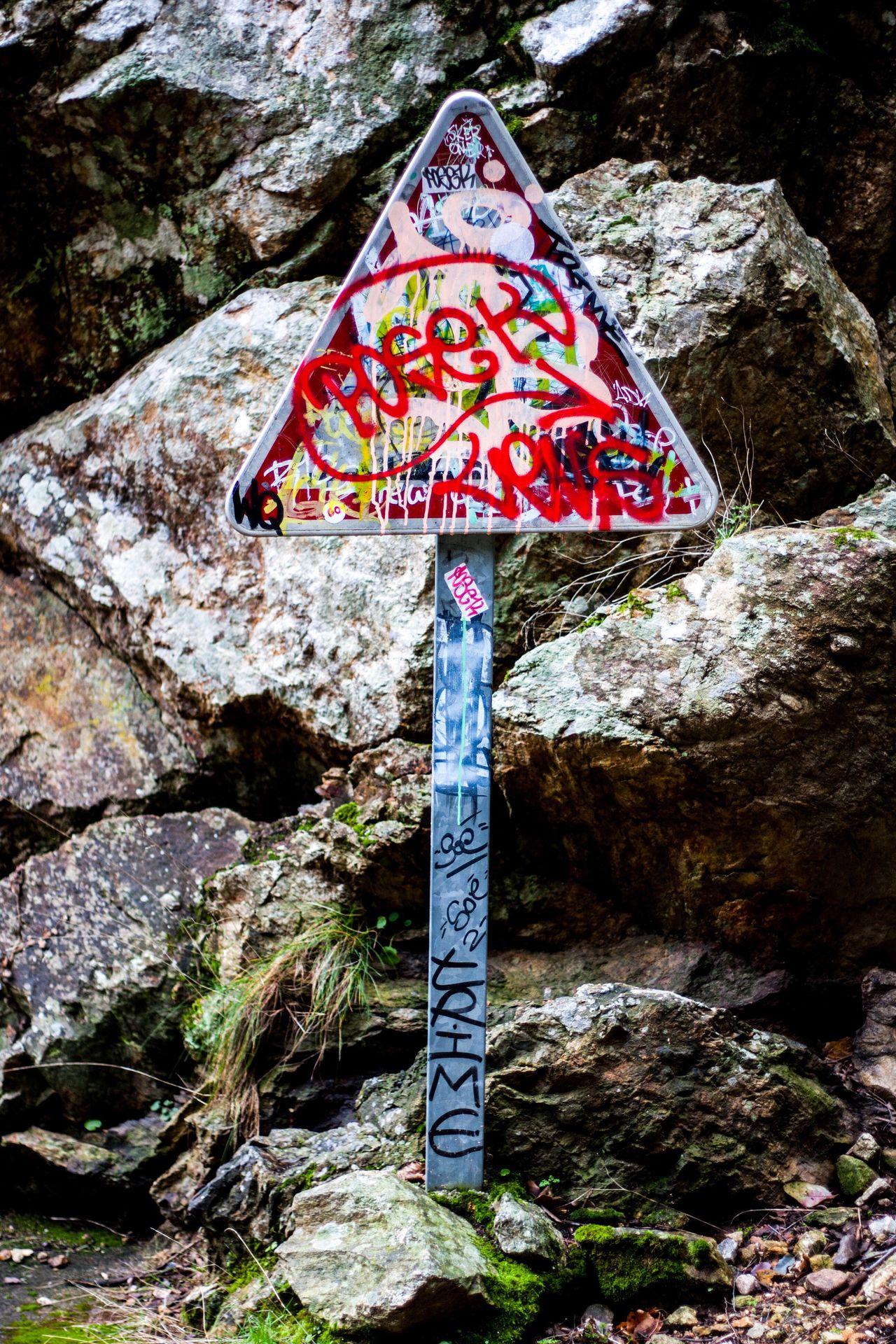 Warning sign. Warning Sign Tag Tagsforlikes Tags Art ArtWork Photography Photo Photos Canon Canonphotography Rock