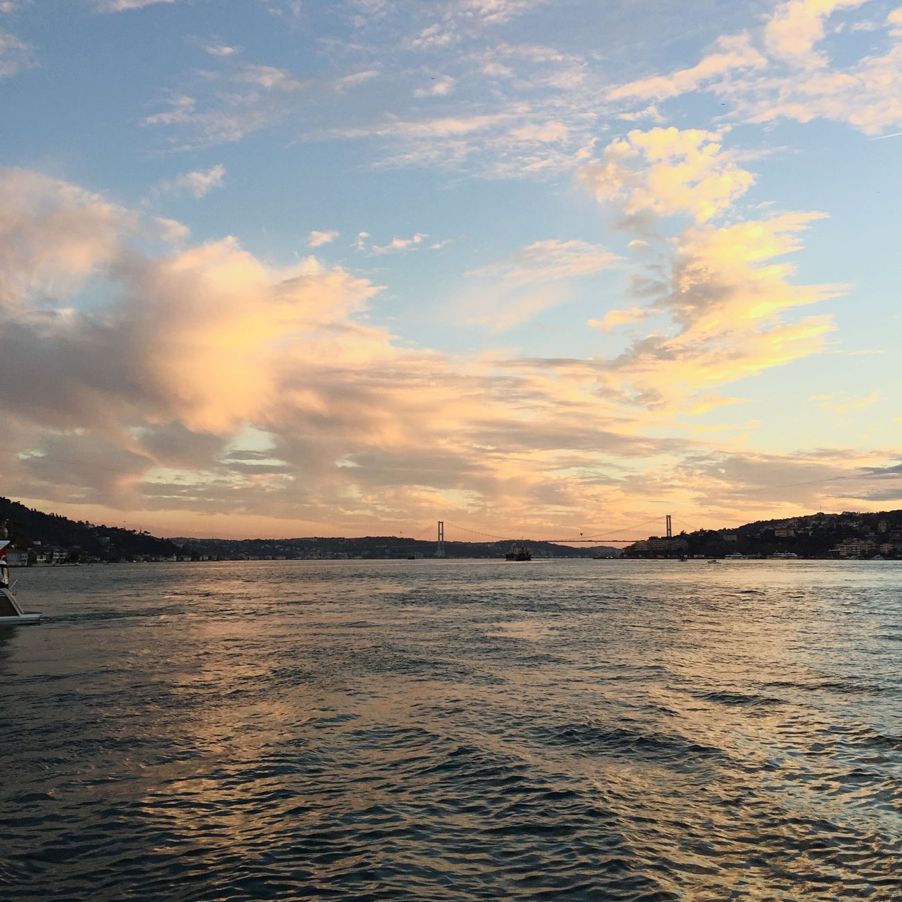 Sea And Sky Sunset Sky Streamzoofamily Bosphorus Eyemphotography Sky And Clouds Sky_ Collection Water