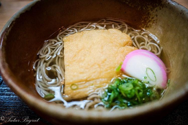 Close-up Food Healthy Eating Japan Japanese Food Japanese Soba Meal Nara,Japan Ready-to-eat Selective Focus Tofu