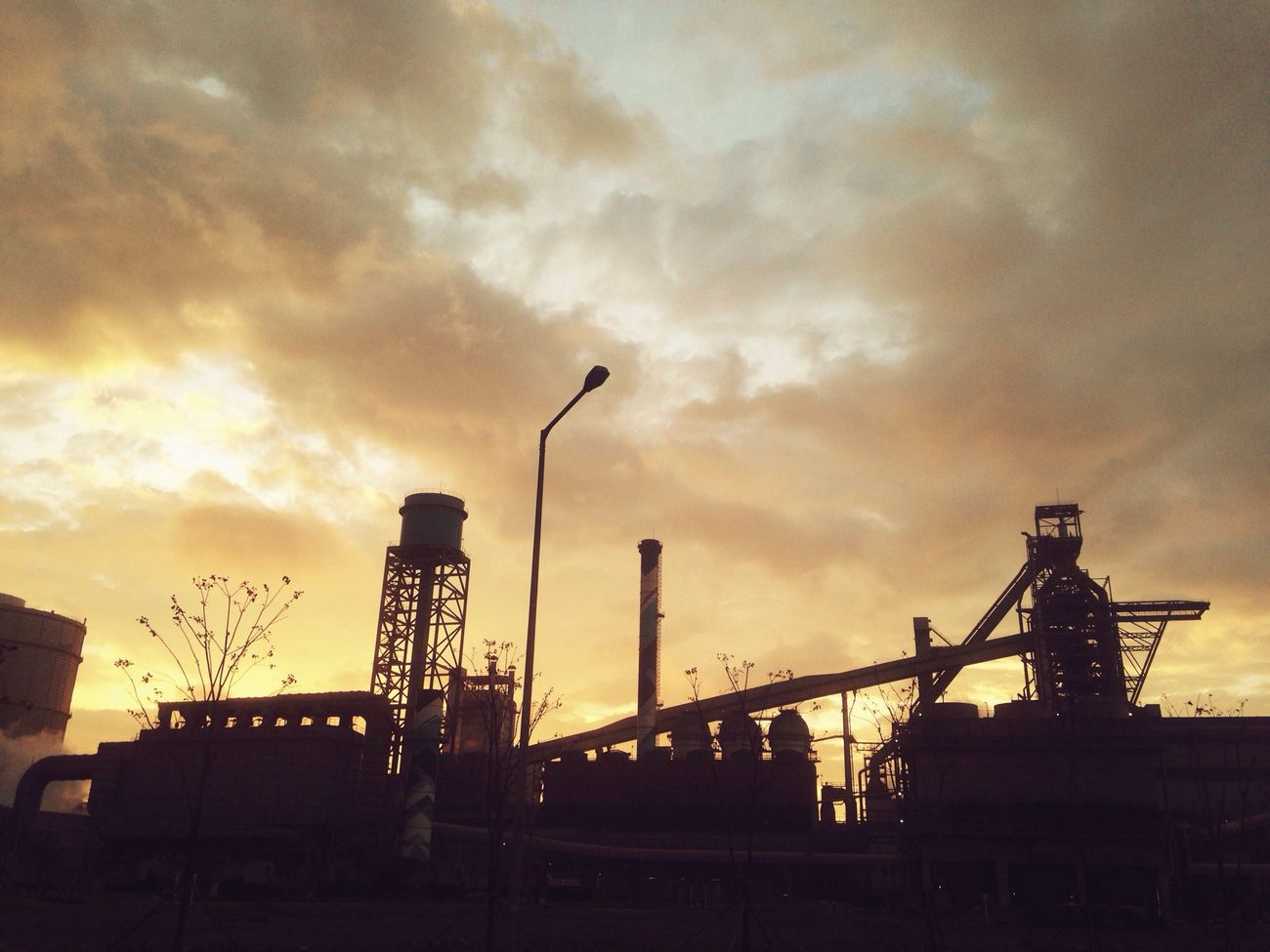 Hyundai-Steel mill & The Autumn