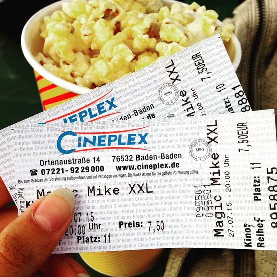 Cinema Channing Tatum Magic Mike Xxl Awesome Lovelovelove Happy With Cousin Great Atmosphere Freaking Out Baden Baden 🙌😍🙈