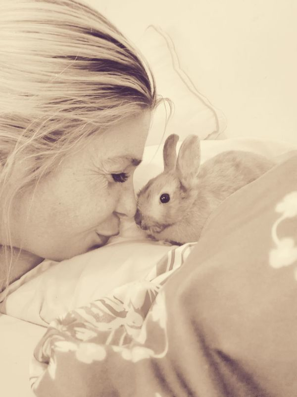 My Rabbit So Addorable.....<3 Me Myself And I