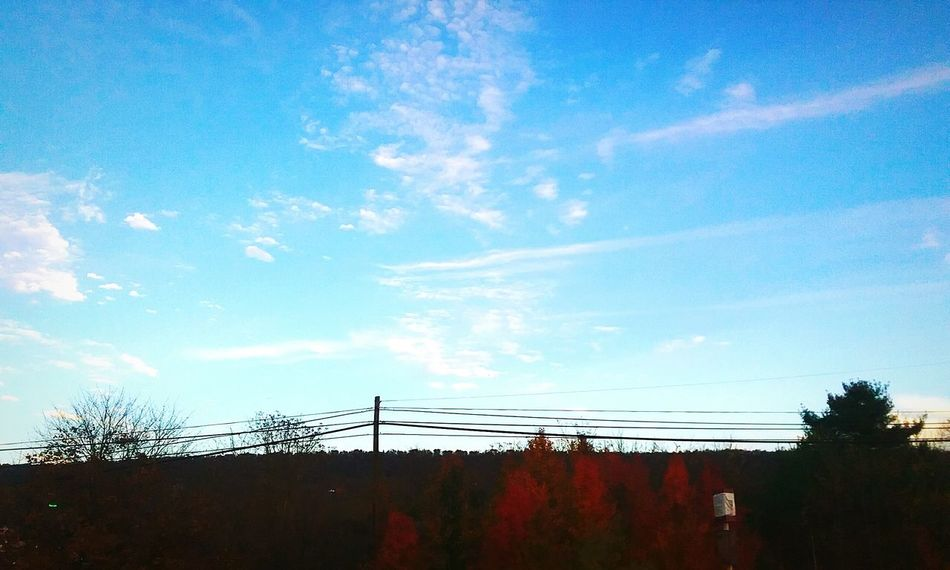 Purely Autumn Outdoors No People Nature Scenics Cloud - Sky Dramatic Sky Sky Day Beauty In Nature United States Breezewood Interchange  Pennsylvania Pennsylvania Beauty