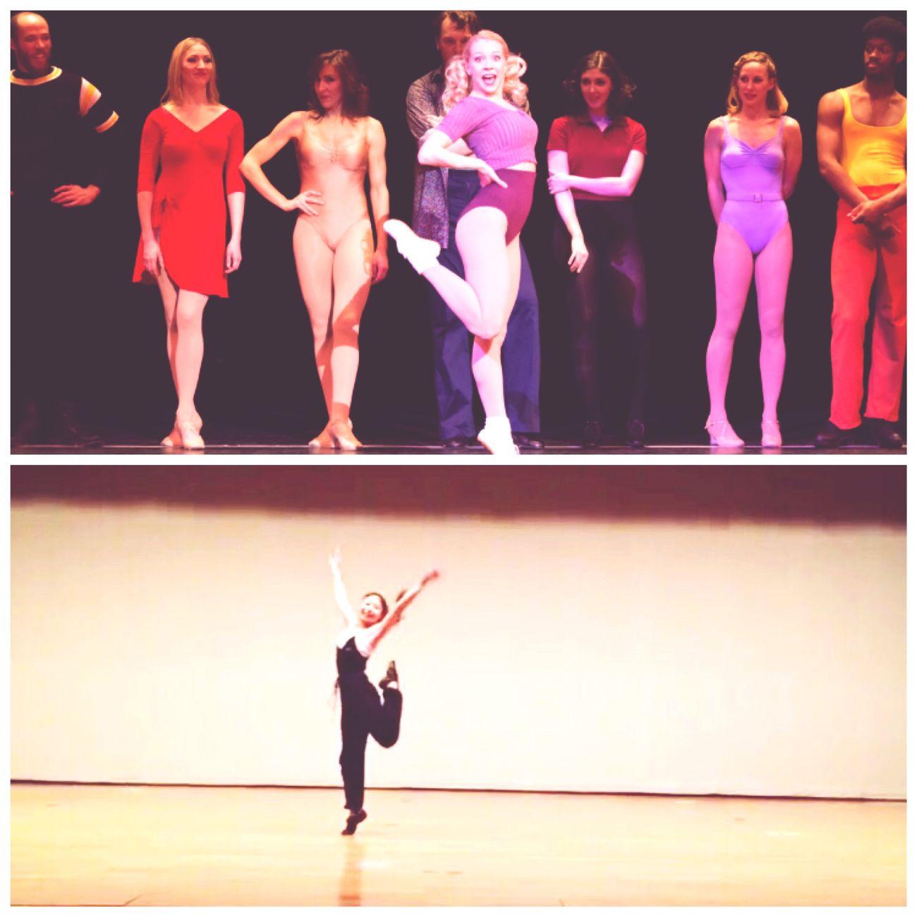 こないだのショーケースでは憧れのバルに挑戦😳 Chorusline Val  Musical Showcase