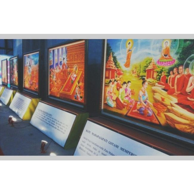 Buddhist festival 2014 Art Painting Old