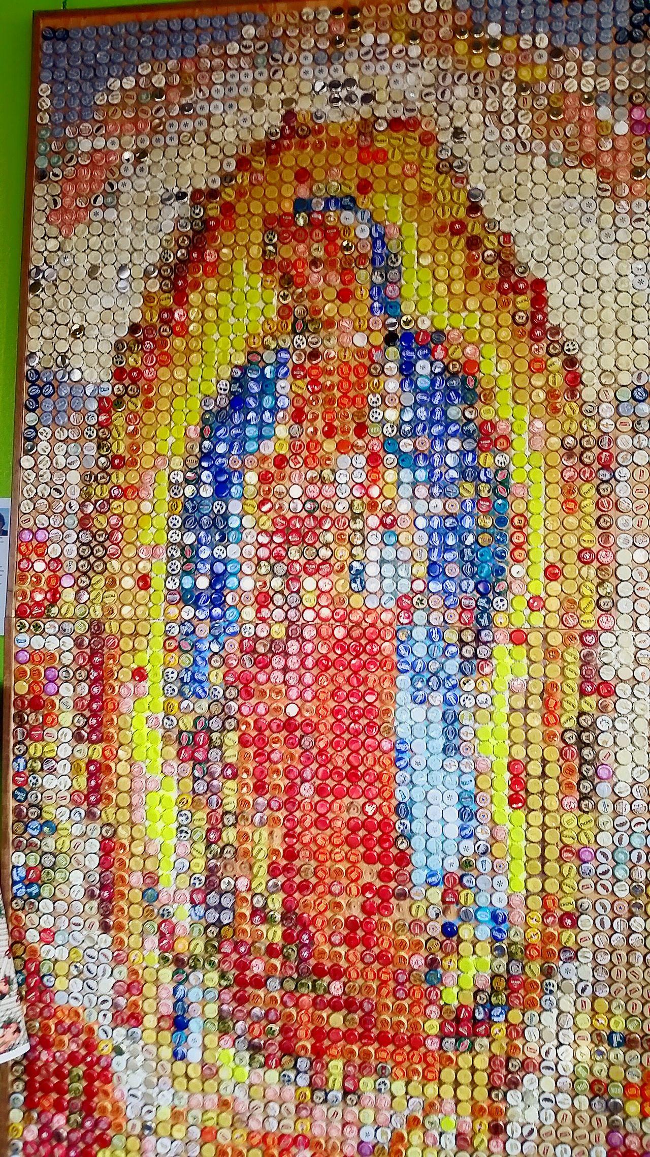 A fine piece of art. Virgen De Guadalupe