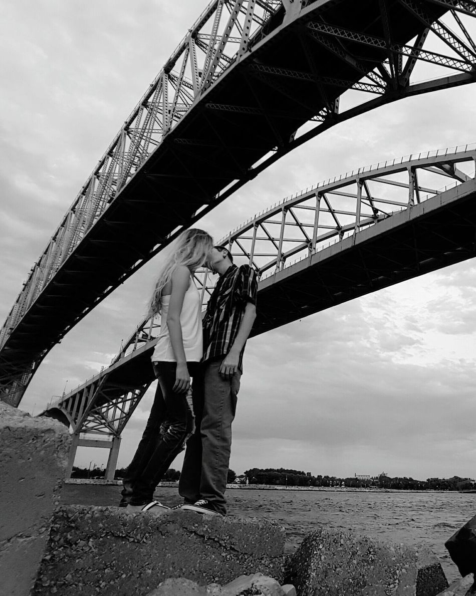 Life with you is beyond Beautiful :) Love Without Boundaries Beauty Bridge Michigan Blue Water Bridge Port Huron Love Kisses Kissing Iloveher EyeEm Best Shots EyeEm Nature Lover Perfect Match