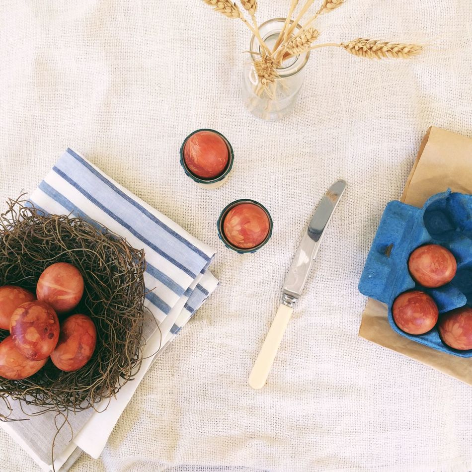 Beautiful stock photos of easter, Bird's Nest, Boiled Egg, Brown Color, Butter Knife