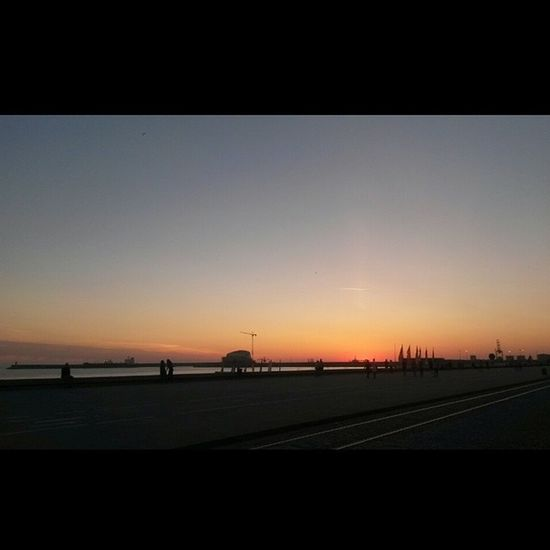 Perfect Sunset Oporto Porto Portugal Skyonfire