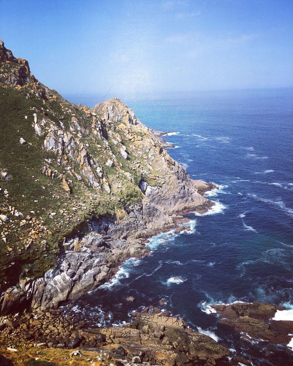 Sea Sky Rocks Blue Island