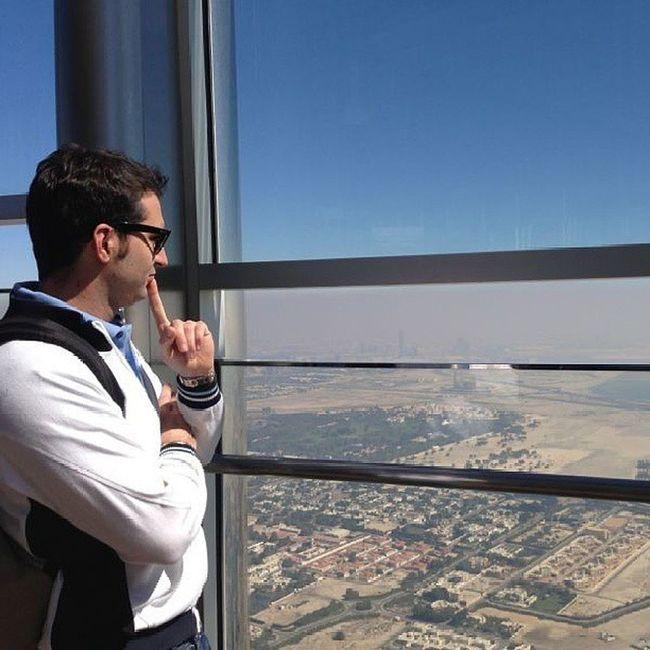 Burjalkhalifa Burj Alkhalifa Tower Dubai Dubailand UAE Emirates Gulf Arabic Arab DXB Travel Trip Bestplace Bestoftheday OneLove ILoveUAE Iloveit Inside Me Amazing Instauae Landscape View city desert buildings architecture Almaktoum