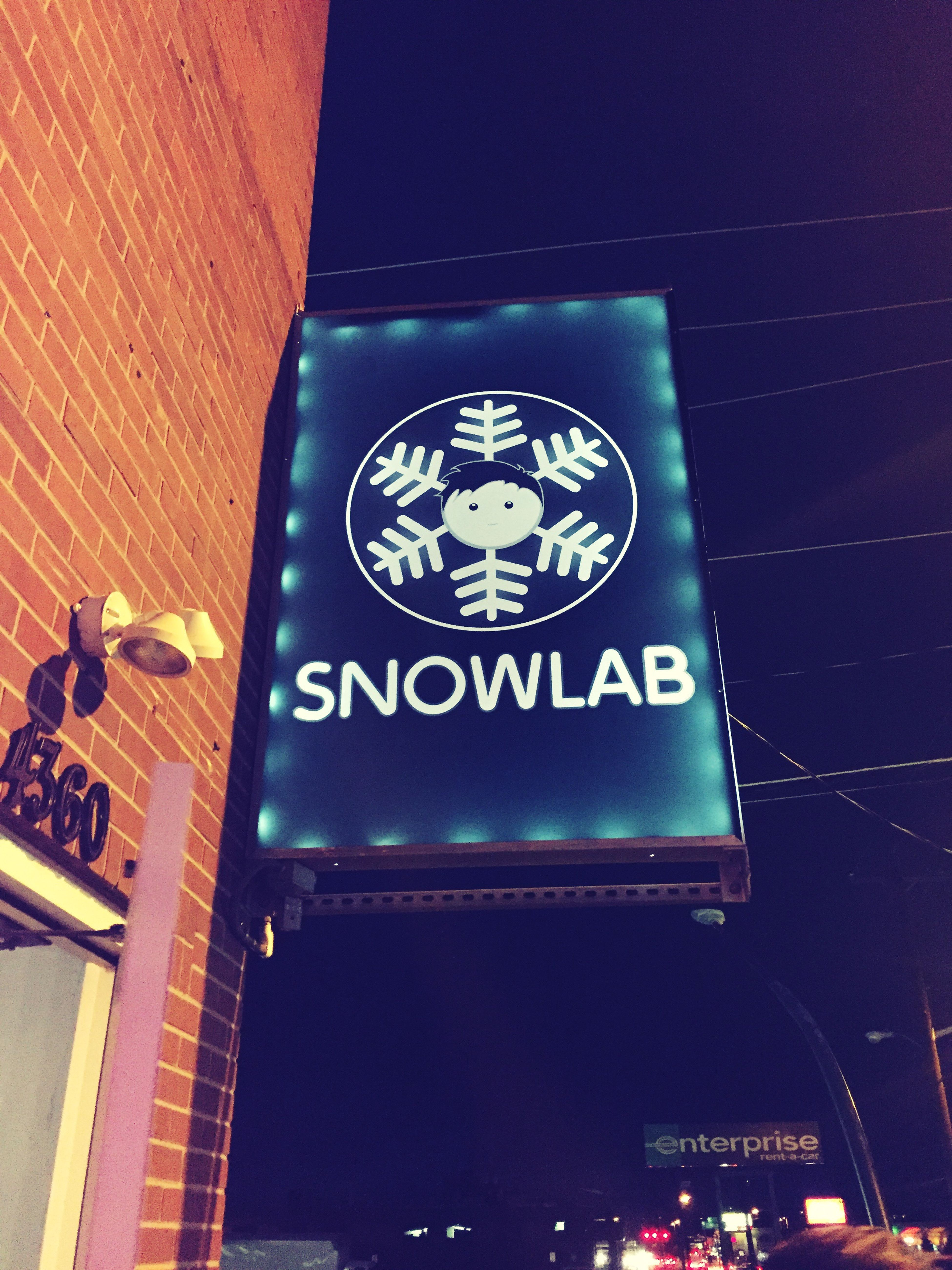 Snow... Illuminated Night Denver Shaved Ice Dessert Veganfriendly Yummy