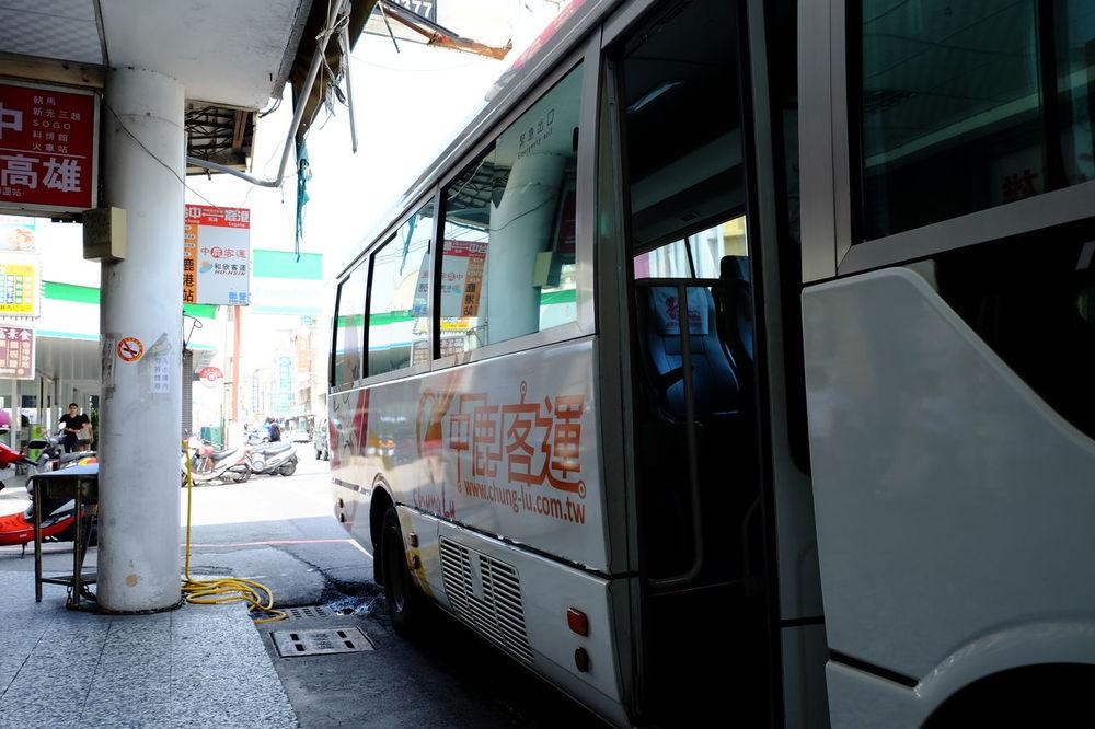 鹿港のバス Bus Bus Station Bus Stop Day Fujifilm Fujifilm X-E2 Fujifilm_xseries Lugang Lukang Taiwan Taiwan Photographer バス バス停 公車 台湾 鹿港 鹿港,Taiwan