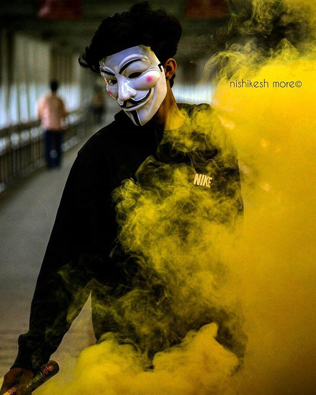 Smoke bombing series....! 4 Smokes Smokeyeye Smoke Smokebomb Smoked Yellow Anonymous Abstracters_anonymous Abstract Vintage Instadaily Photooftheday Instalike Instafollow