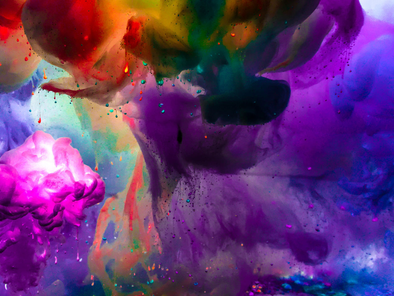 Abstract Backgrounds Close-up Day Full Frame Holi Multi Colored No People Pattern Powder Paint Studio Shot