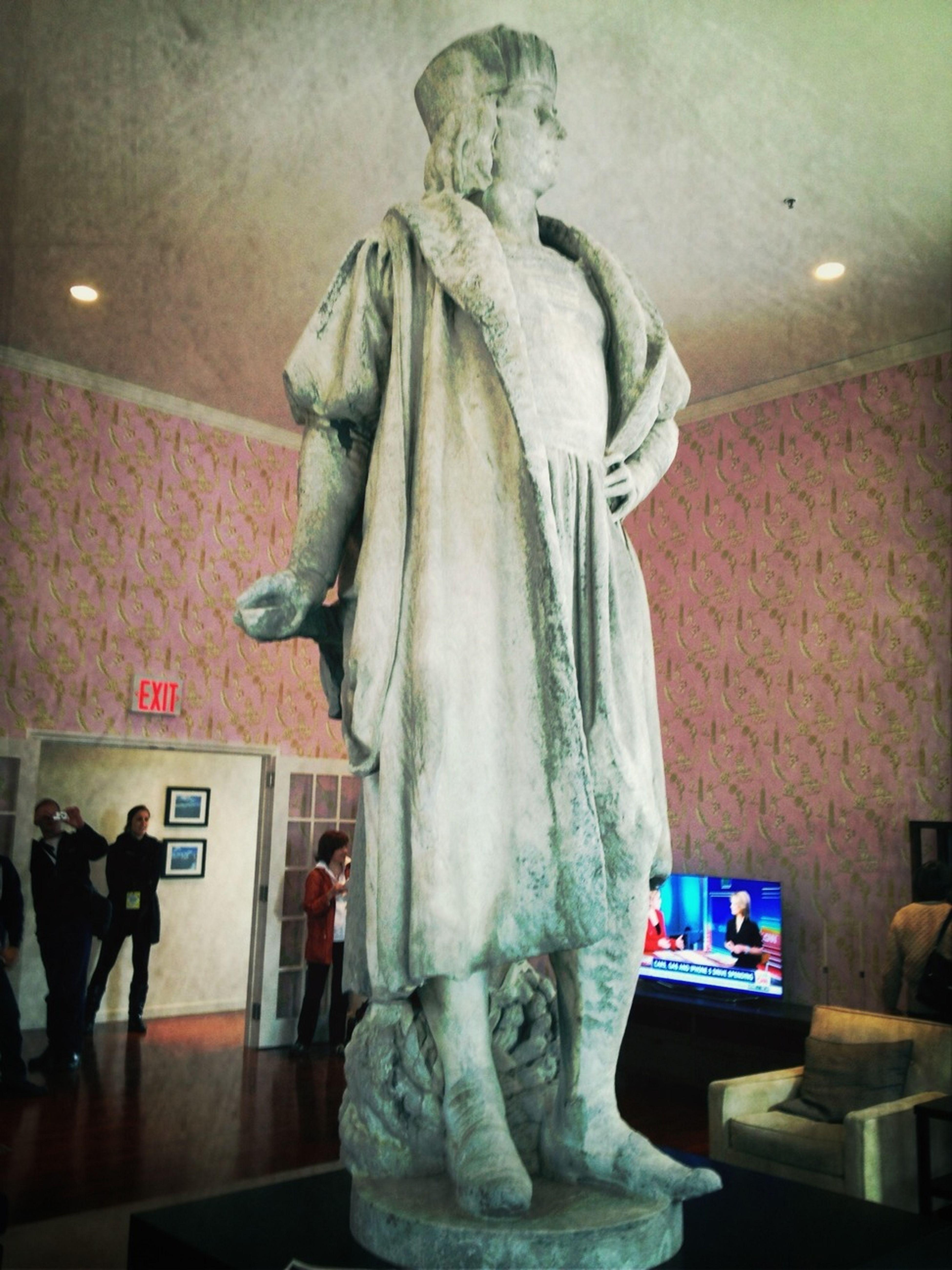 Statue, Of Christopher Columbus