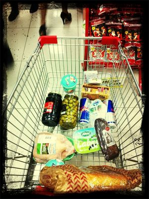 Going to market at Neptun Supermarket by ❤ AYGUN ❤