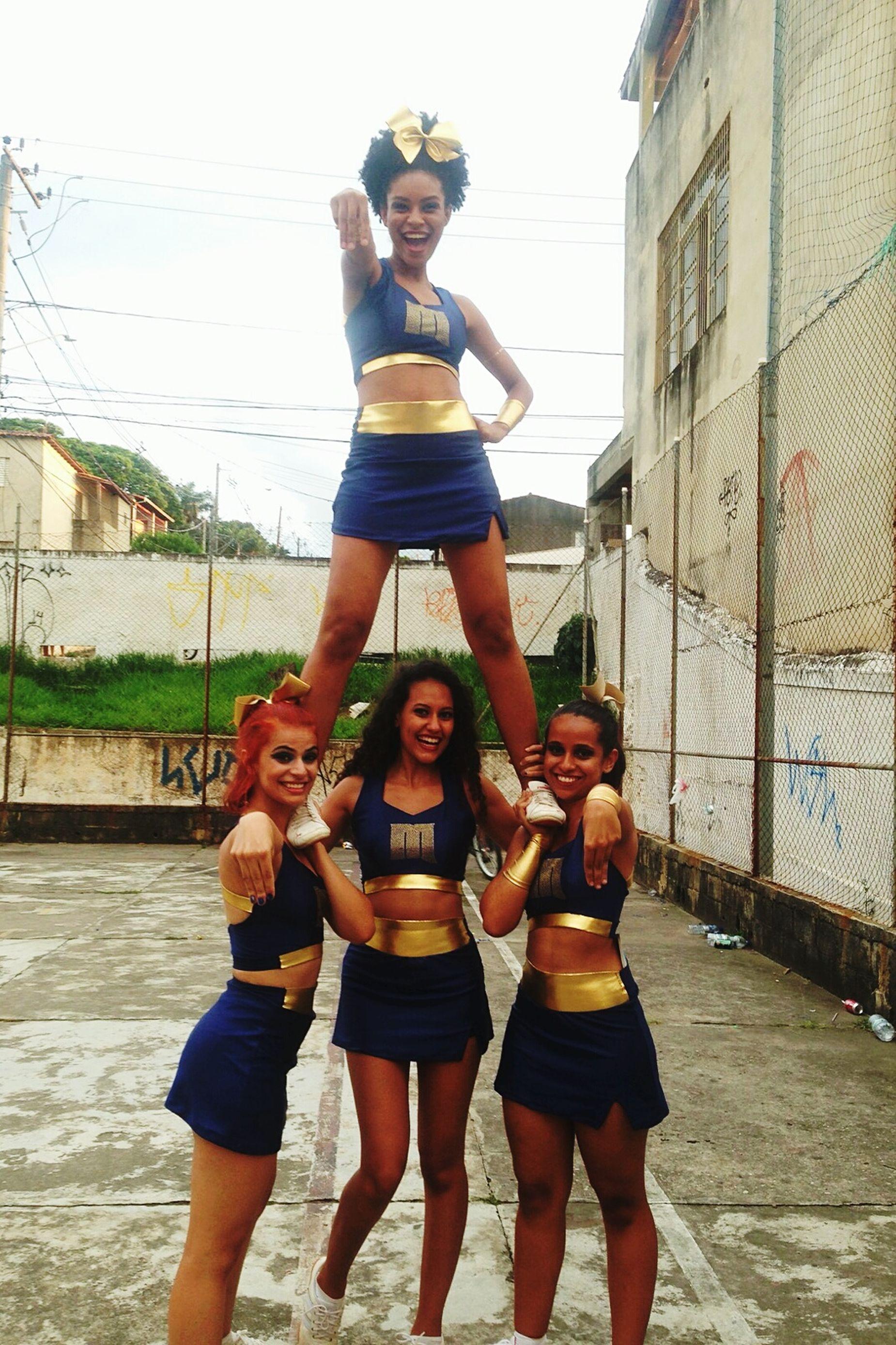 Cheerleader Cheerleading Allgirls Brazil Minervas Ufrj Nacional