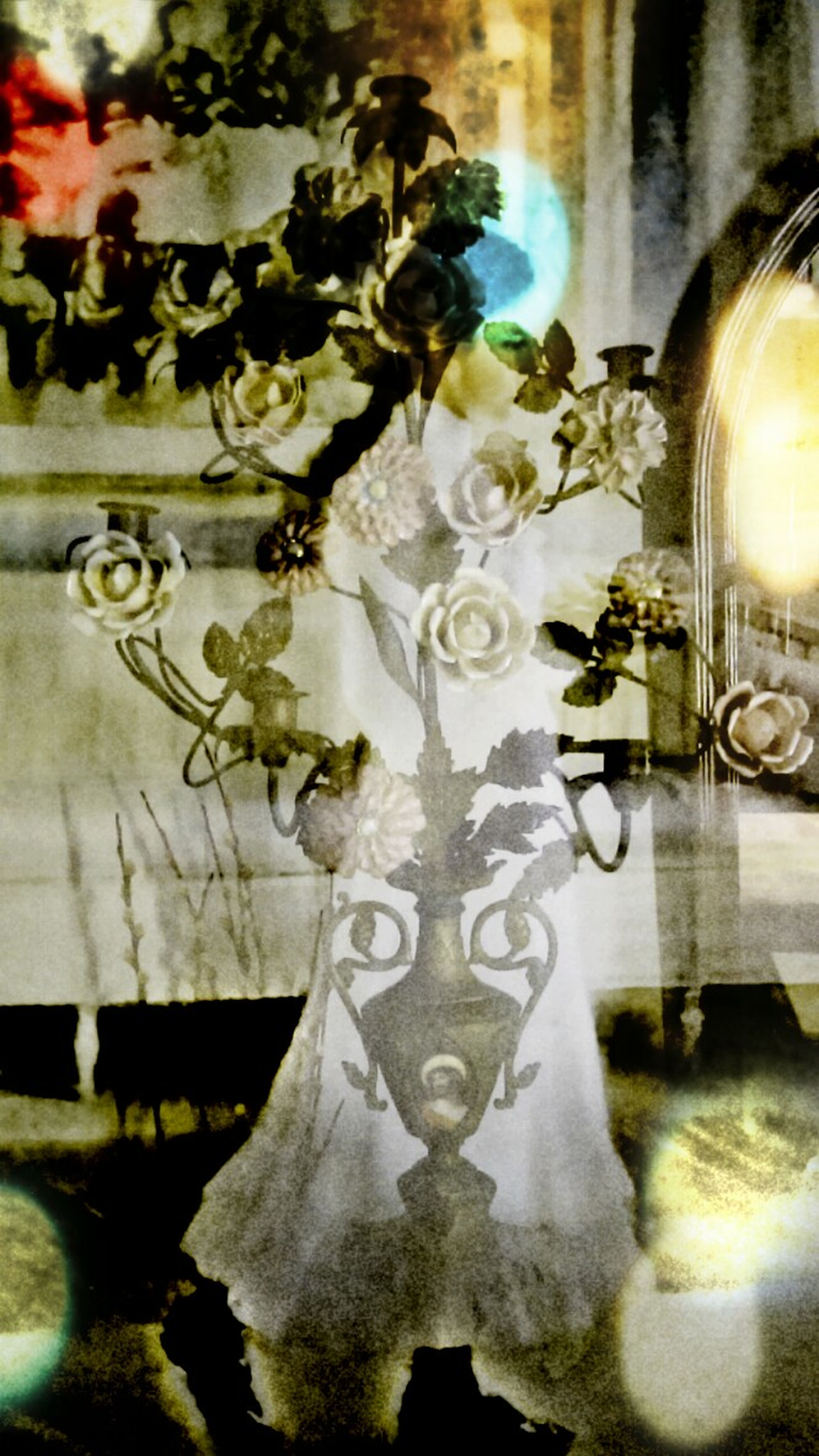 Open Edit Creative Light And Shadow Double Exposure Vintage And Contemporary Portrait Surrealism Fine Art