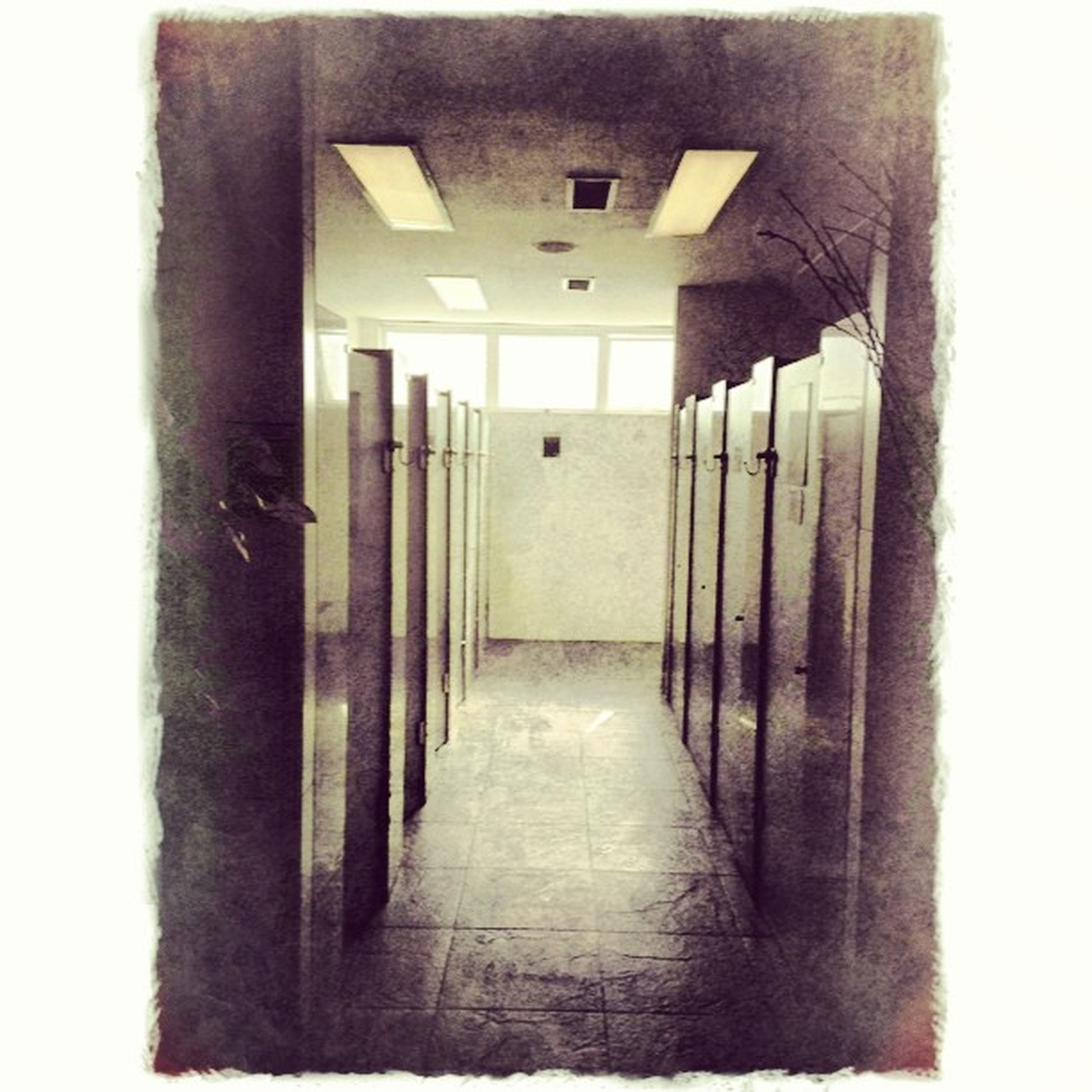 architecture, built structure, transfer print, auto post production filter, indoors, building exterior, the way forward, door, building, corridor, wall - building feature, empty, entrance, window, wall, no people, absence, house, diminishing perspective, narrow
