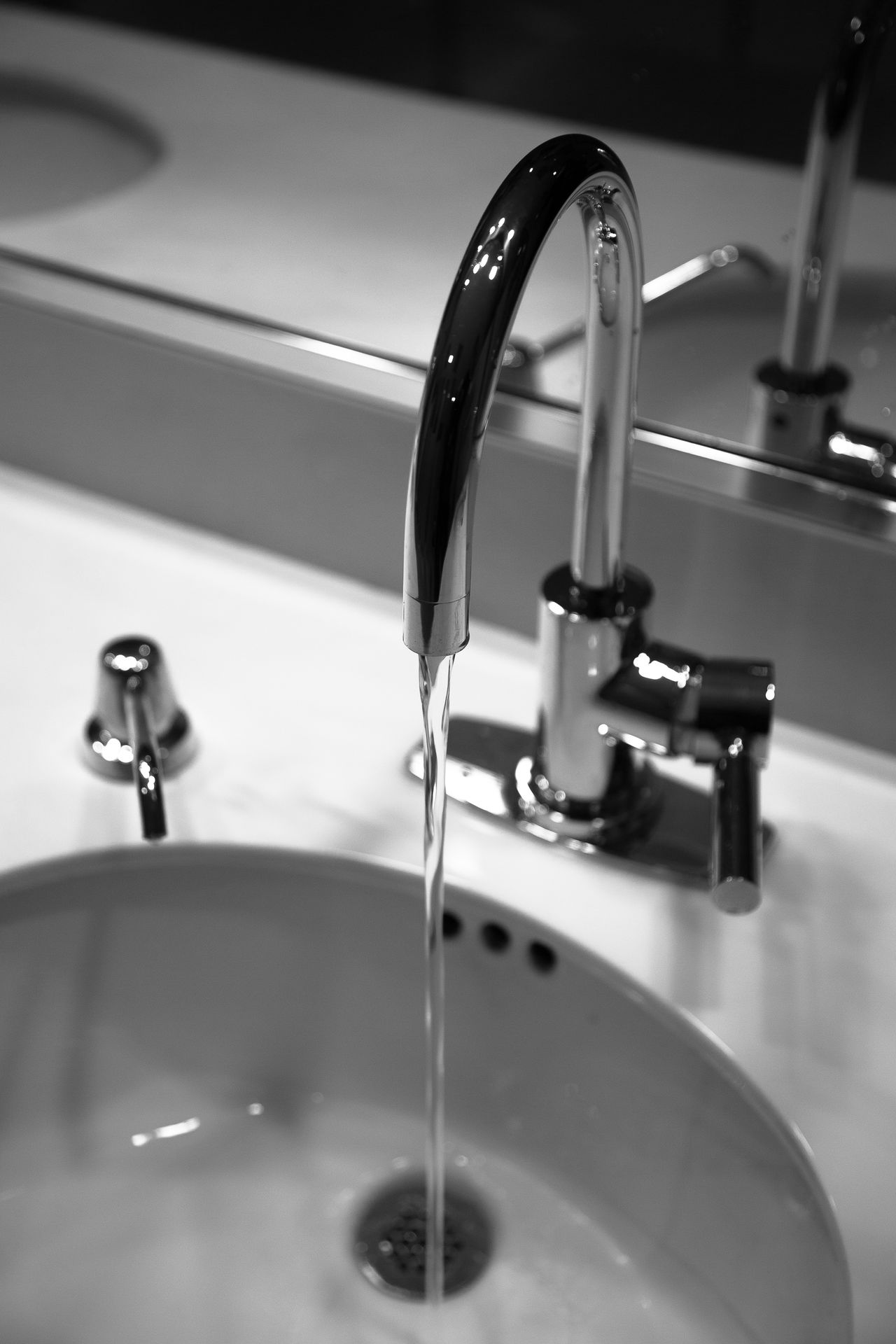 Water_collection Faucet Monochrome Everyday Lives
