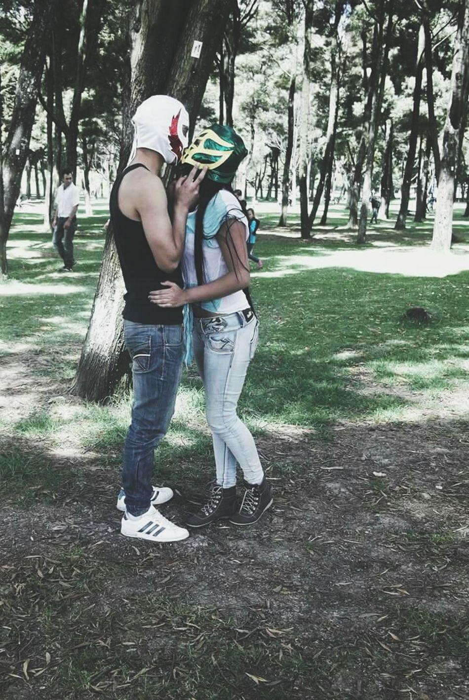 Picnic Bestfriends Besos ♡ Lucha Libre