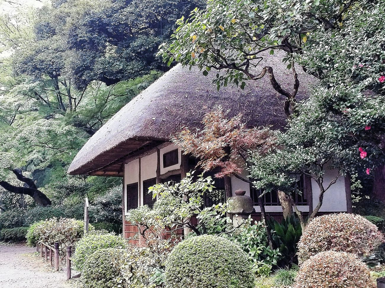 Rest Area Japanese  Building Design Architecture Architecture_collection Architecturelovers Koishikawa Korakuen 1629 Tokugawa Edo Period Clan Garden Tokyo Autumn 2015 Tokyo Japan Travelphotography