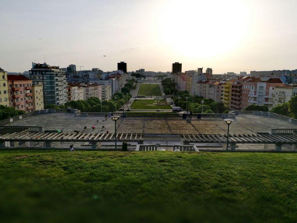 Alameda in Lisbon - Portugal