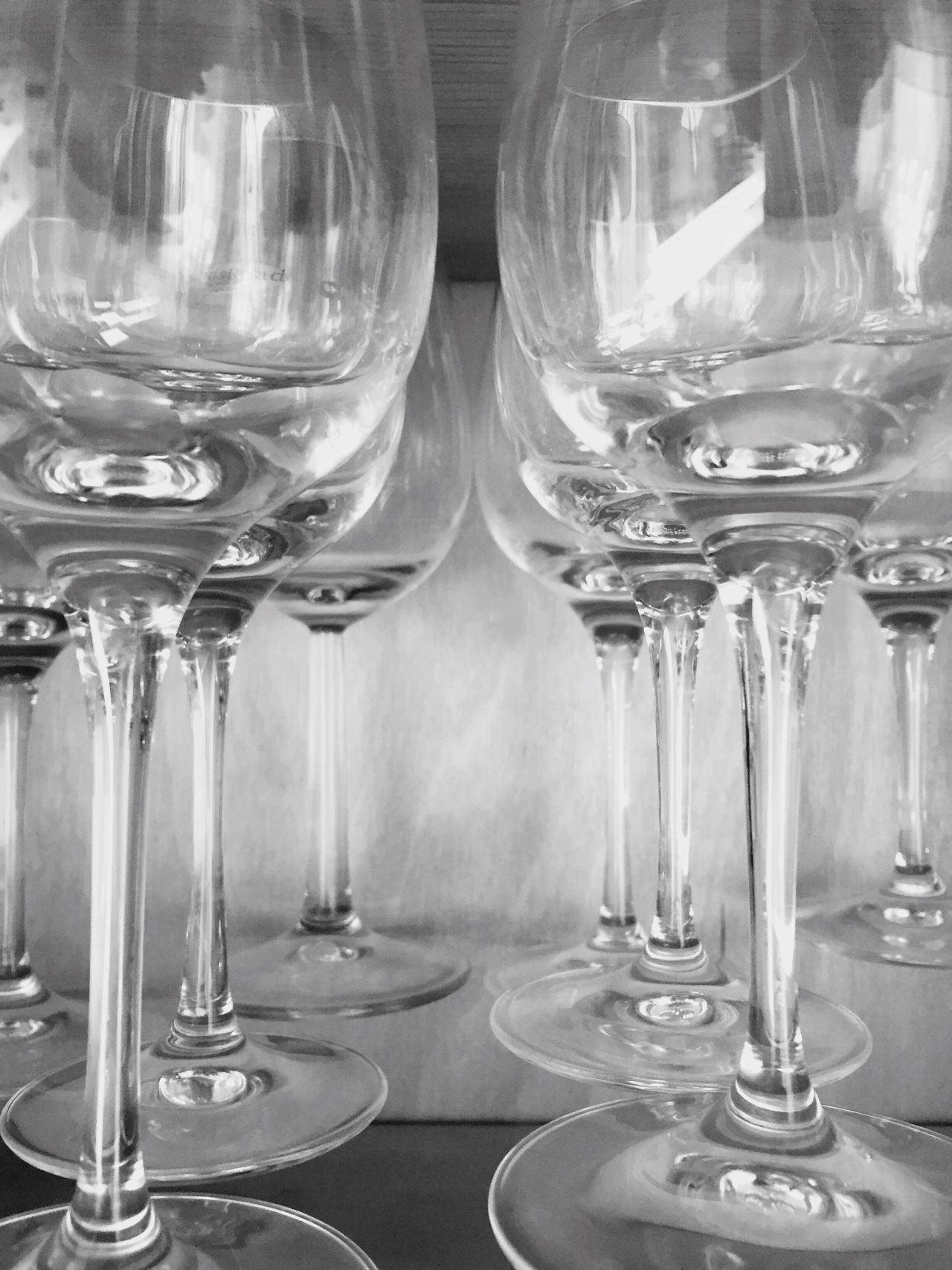 Glass - Material Wineglass Indoors  Transparent Monochrome Photography Floating